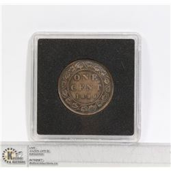 1899 VICTORIAN CANADA LARGE CENT COIN