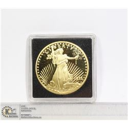 1933 GOLD CLAD COPY OF ST.GAUDENS DOUBLE EAGLE