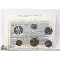 1993 CANADIAN 6 COIN UNCIRCULATED SET WITH