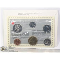 1994 CANADIAN 6 COIN UNCIRCULATED SET WITH