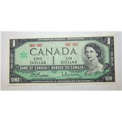 3)  CANADIAN 1867-1967 CENTENNIAL $1.00