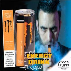 800 PUFFS PLUS E-CIGARETTE ENERGY DRINK
