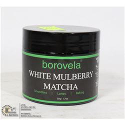 50G BOTTLE OF BOROVELA WHITE MULBERRY