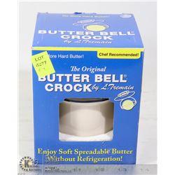 THE ORIGINAL BUTTER BELL CROCK