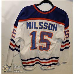 OFFICIAL NHL CCM EDMONTON OILERS JERSEY