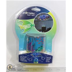 "NEW PROJECTABLES NIGHT LIGHT ""OCEAN"" WALL TO"