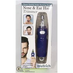 NEW NOSE AND EAR HAIR TRIMMER