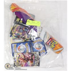 X3 POKEMON BOOSTER PACKS AND SUPPLIES ETC.