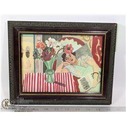 """GIRL WITH ANEMONES"" HENRI MATISSE 1869-1954"