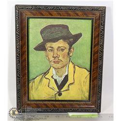"""""""PORTRAIT OF A YOUNG MAN"""" VINCENT VAN GOGH 1853-"""