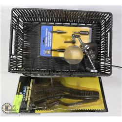 NEW SHAPING CUTTERS , WIRE BRUSHES , MAGNIFIER