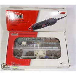JOBMATE ROTARY TOOL KIT WITH 300 PIECE ACCESSORY