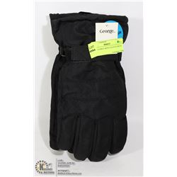 NEW GEORGE MEN'S GLOVES WITH TAGS