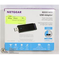 NETGEAR N300 WIFI USB ADAPTER IN BOX