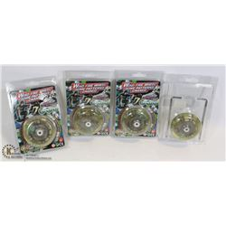 LOT OF 4 NEW WIND FIRE WHEELS WITH AUTO