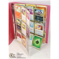 180 POKEMON COLLECTIBLE CARDS IN BINDER