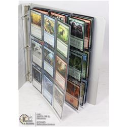 180 MTG MAGIC COLLECTIBLE CARDS IN BINDER