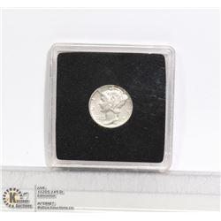 HIGH GRADE 1935 USA MERCURY SILVER 10 CENT COIN