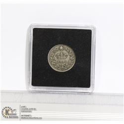 1894 ITALY 20 CENTISMI COIN, NICE DARK TONE