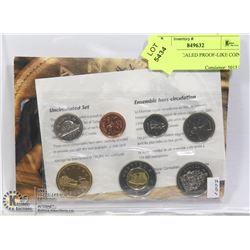 2001 MINT SEALED PROOF-LIKE COIN SET RCM