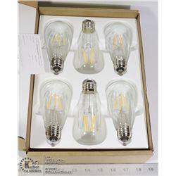 6PC LUXEIRD LIGHT BULBS