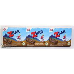 THREE BOXES OF Z-BARS, 5 PER BOX
