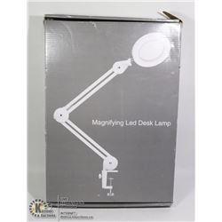 MAGNIFYING LED DESK LAMP