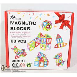 68PC MAGNETIC BLOCK SET