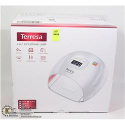 TERRESA 2 IN 1 UV LED NAIL LAMP