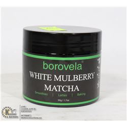 50G BOTTLE OF BOROVELA WHITE MULBERRY