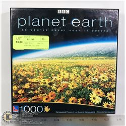 1000 PIECE BBC PLANET EARTH PUZZLE FLOWERS EDITION