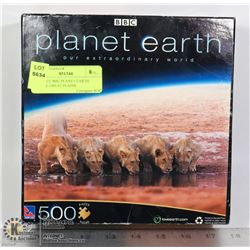 500 PIECE BBC PLANET EARTH PUZZLE GREAT PLAINS