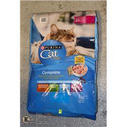 BAG OF PURINA CAT FOOD 8KG