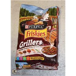 BAG OF FRISKIES CAT FOOD 7.5KG