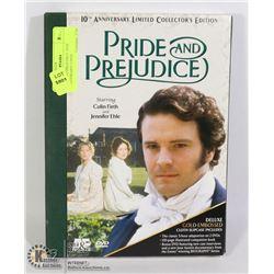 PRIDE AND PREJUDICE 10TH ANNIVERSARY 3 DVD