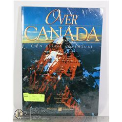 OVER CANADA- AN AERIAL ADVENTURE BOOK- LARGE