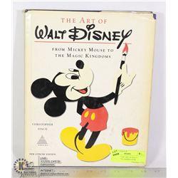 "VINTAGE ""THE ART OF WALT DISNEY""- 1975 HARDCOVER"