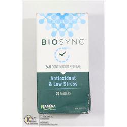 BIOSYNC 24H CONTINUOUS RELEASE ANTIOXIDANT