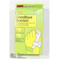 NEW GOODBYE BUNION: NON SURGICAL BUNION SOLUTION