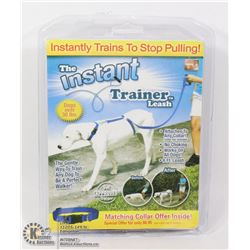 NEW INSTANT TRAINER LEASH, INSTANTLY