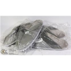 TWO PAIRS OF SIZE MEDIUM SLIPPERS