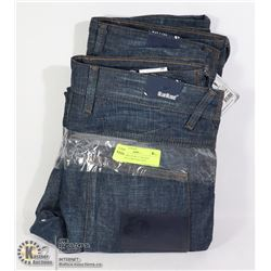 TWO PAIRS OF BLUE BLOOD WOMENS JEANS SIZE 29/32