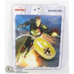 IRONMAN OPTICAL MOUSE