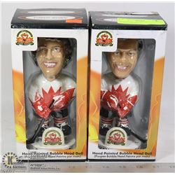1972 TEAM CANADA HAND PAINTED BOBBLE HEADS