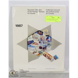 1987 CANADA POST SOUVENIR COLLECTION OF POSTAGE
