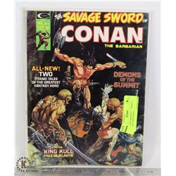 SAVAGE SWORD OF CONAN #3 COLLECTOR MAGAZINE
