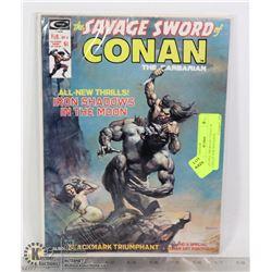 SAVAGE SWORD OF CONAN #4 COLLECTOR MAGAZINE