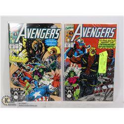 AVENGERS #330 & 331 1980?S COLLECTOR COMICS