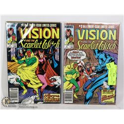 VISION & SCARLET WITCH #1 & 2 COLLECTOR COMICS