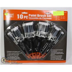 NEW 10PC PAINT BRUSH SET